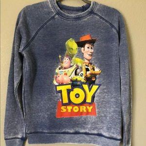 Disneys Pixar Small Blue Toy Story sweater